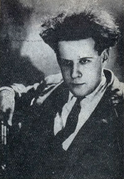 A photograph of a young Sergei Eisenstein